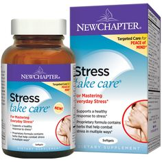 New Chapter, Stress Take Care, 60 Softgels - iHerb.com