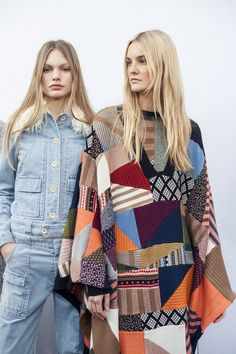 Denim and patchwork – an urban take on our Fall-Winter 2015 runway looks #lookswedig