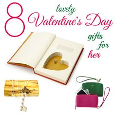 8 Lovely Valentine's Day Gifts for Her