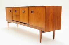 STUNNING Mid Century 7FT Credenza/Media by ModCenturyVintage, $1795.00