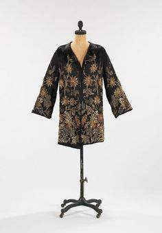 Edward Molyneux, Evening jacke, 1926, The Metropiltain Museum  of Art collection, New York