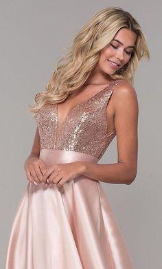 V-Neck Party Dress Long Satin Prom Dress Pink Evening Dress the new prom dress pink long dress Backless Bridesmaid Dress, Backless Long Dress, Sequin Prom Dresses, Prom Dresses For Teens, V Neck Prom Dresses, Ball Gown Dresses, Homecoming Dresses, Formal Dresses, Long Dresses
