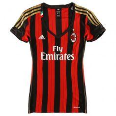 Ac milan home jersey 13/14 - women