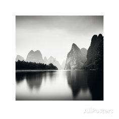 Li River Study Kunstdruck von Josef Hoflehner in Antiquitäten & Kunst, Plakate & Kunstdrucke, Kunstdrucke / Poster   eBay
