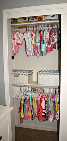 Could use curtain rods and mount shelves in a nook, rather than a deep closet, would still have the same look and save space!
