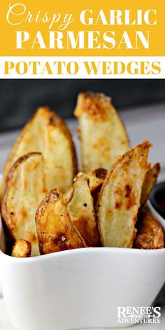 healthy food choices when eating out menu printable Parmesan Potato Wedges, Garlic Parmesan Potatoes, Baked Garlic, Best Superbowl Food, Tailgating Recipes, Roast Recipes, Fall Recipes, Cheap Recipes, Crispy Potatoes In Oven