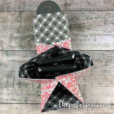 Explosion Treat Holder for Ghirardelli Squares with Video Tutorial - The Paper Pixie Ghirardelli Chocolate Squares, Hot Chocolate Gifts, Paper Purse, Craft Packaging, Treat Holder, Candy Gifts, Treat Bags, Favor Bags, Card Tutorials