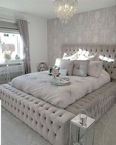 64 modern and simple bedroom design ideas 7 - Home ideas - Bedroom Decor Home Bedroom, Modern Bedroom, Beds Master Bedroom, Contemporary Bedroom, Bedroom Small, Bedroom Black, Minimalist Bedroom, Small Rooms, Lux Bedroom