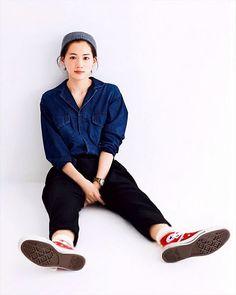 Ayase haruka for converse Cute Fashion, Womens Fashion, Minimal Outfit, Japanese Models, Work Looks, Japan Fashion, Girl Crushes, Girl Photos, Beauty Women