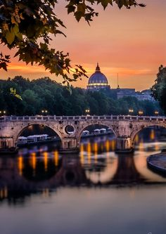 Sunset in Rome ❤