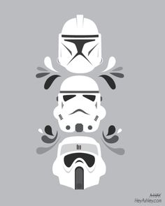 Stormtroopers - by Ashley Hay