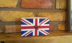 "Concrete clock ""Union flag"""