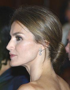 Princess Letizia attends the United States-Spain Council Forum dinner on November 15, 2013, in Santa Barbara, California.