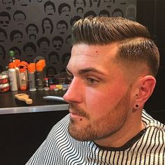 Haircut Very Short Haircuts, Haircuts For Men, Men's Haircuts, Medium Skin Fade, Brylcreem Hairstyles, Master Barber, Comb Over, Pompadour, Barber Shop