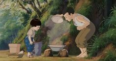 Grave of the Fireflies Hotaru No Haka, Grave Of The Fireflies, Studio Ghibli, Cinematography, Art Day, Animation, Fine Art, Drawings, Illustration