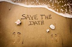 Save the Date idea~LOVE, LOVE this!!
