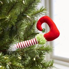 Elf Leg Tree Pick | Pier 1 Imports