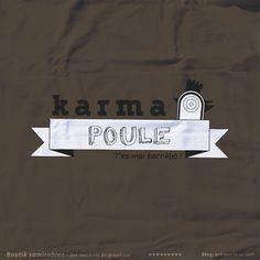 Karma Poule - Boutique tee-shirts Samirabien