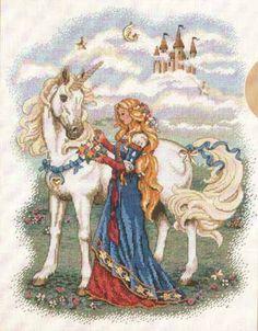 Gallery.ru / Фото #2 - Princess and Unicorn - Auroraten