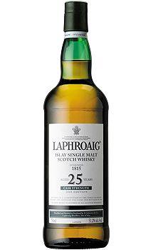 Laphroaig 25 Year Old Single Malt Scotch Whisky, $615.00