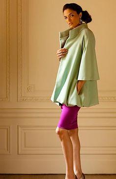 Karen Caldwell, 'Crawford' Cashmere swing coat, lined in 100% silk