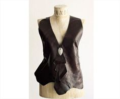 Vanda Deri Yelek Leather Bustier, Leather Vest, Leather Accessories, Branches, Fashion Fashion, Bodysuit, Women, Leather, Sweater Vests