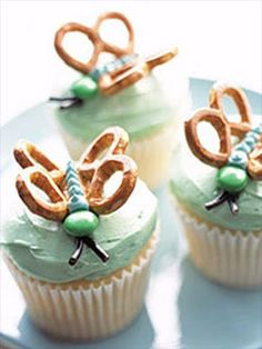 Insects Cupcakes Wallpaper