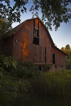 Old Barn with Sunset | Recent Photos The Commons Getty Collection Galleries World Map App ...