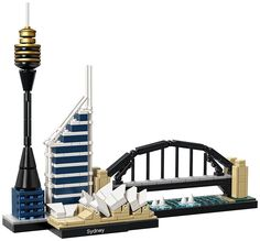 - Features the Sydney Opera House, Sydney Harbour Bridge, Sydney Tower and Deutsche Bank Place^The included booklet contains information about the designer, architecture and history of each structure,
