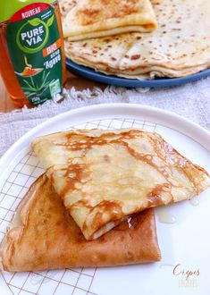 Light and fluffy pancakes - Recipe for light and fluffy pancakes with agave syrup # pancakes - French Toast Bake, French Toast Casserole, Pancake Recipes, Nutella, Light And Fluffy Pancakes, Sausage Crockpot, Soup Recipes, Cooking Recipes, Coleslaw