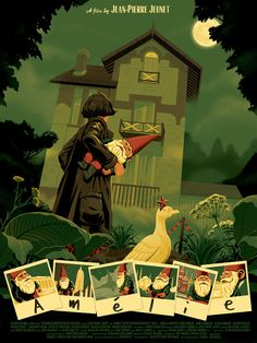 OMG Posters!  » Archive  Amélie Poster by George Bletsis