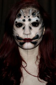 spider queen makeup - Google Search
