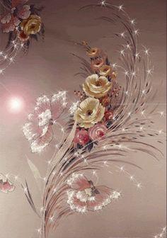 flores iluminadas