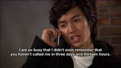 """nessouki: """" If you're a girl… or a boy and like asian tv shows, movies, or asians in general, this TV show's for you. Just search for """"Boys Over Flowers"""" and you'll thank me. Boys Before Flowers, Boys Over Flowers, Sam Come Back, Tony Stark Steve Rogers, Anthony Stark, Rafael Garcia, Trans Man, Dialogue Prompts, Wreck It Ralph"""