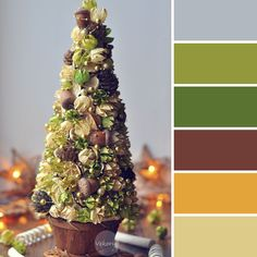 Этой Ярмарки краски: 15 новогодних цветовых палитр от мастеров портала - елка