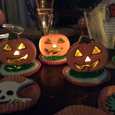 Halloween pumpkin cookies 3