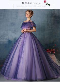 100% echt lila blume sicke taille rüschen Mittelalterliche renaissance-kleid Sissi prinzessin kleid Viktorianischen kleid/Marie/Belle Ball