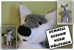 Wolf - Schnitt von Pretty Toys