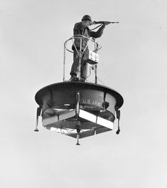 Hiller Flying Platform... the government actually made hovercrafts in the 50s!