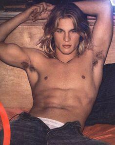 HE can't bowl and he can't bat, so just as well former Calvin Klein model Travis Fimmel can act as in VIKINGS.