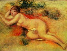 Renoir, Pierre-Auguste: Akt - Gemeinfrei