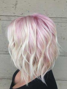 Süsse Kurze Rosa Frisuren, die Sie sehen können