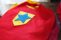Prince capes for the boys? In gray? No Sew Superhero Capes (FREE Template) - Jolly Mom Superhero Birthday Party, Boy Birthday, Superhero Capes For Kids, No Sew Cape, Batman, Christmas Toys, Christmas Ideas, Camping Crafts, Felt Fabric