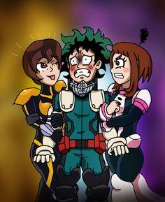 MHA:AOU - Don't Touch Him! by edCOM02 on DeviantArt Boku No Hero Academia, My Hero Academia Manga, Metal Gear Rising, Deku Boku No Hero, Nami One Piece, How To Make Comics, Age Of Ultron, Man Vs, Scarlet Witch