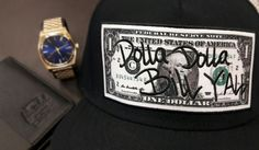 Cayler & Sons cap Nixon metal watch all gold/blue Herschel authentic leather wallet