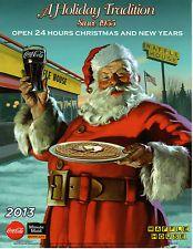 2013, Coca Cola Santa