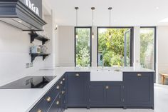 Kitchen Lighting Pendants For Extension In South London By Bethel Projects.