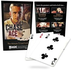 Magic Makers Ultimate 3 Card Trick Bicycle Cards - Chase The Ace Cards