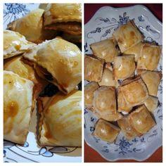 Per festeggiare Martedì grasso, oggi ho fatto dei ravioli di Carnevale. Si tratta di un dolce tipico di questo periodo dell'anno con un ripieno alla ricotta con del cioccolato e delle scorze d'arancia. Invece di farli friggere come al solito, ho preferito metterli al forno. Manu - Avanzato 2.