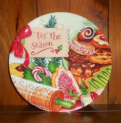 Mrs.T's Christmas Kitchen: My new Christmas plate